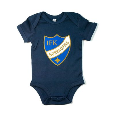 Babybody med IFK Norrköpings emblem