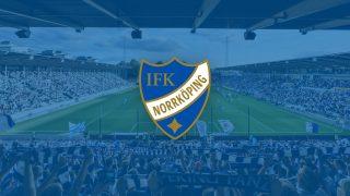 Arena med IFK Norrköpings emblem på