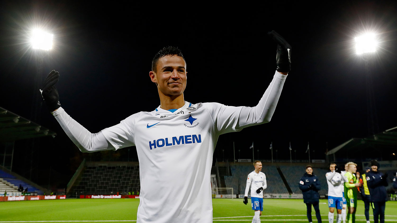 Målgest från IFK Norrköping